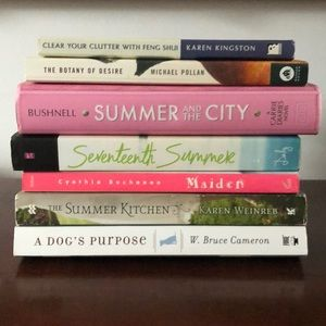 Set of 7 reads for summer